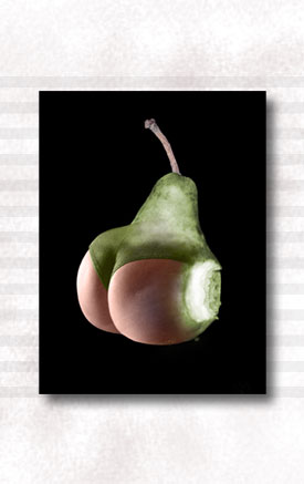 Ripe Pear Display (Small)